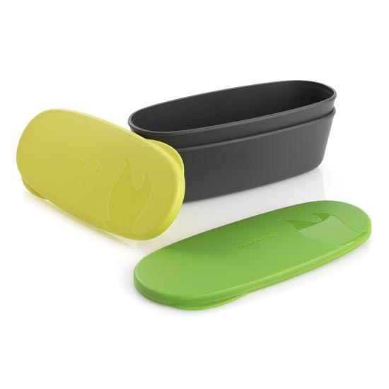 Light My Fire Snapbox Oval 2 Pack - Lime/Green