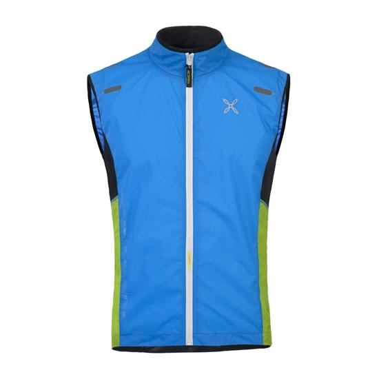 Montura Run Sky Vest - Azul/Verde/Negro