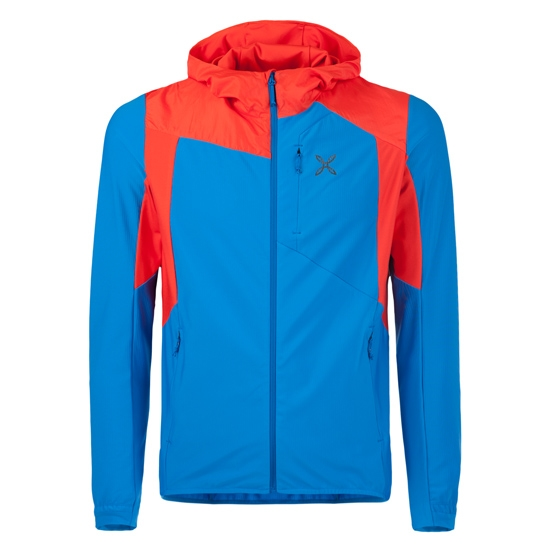 Montura Light Pro Pile Jacket - Azul/Rojo