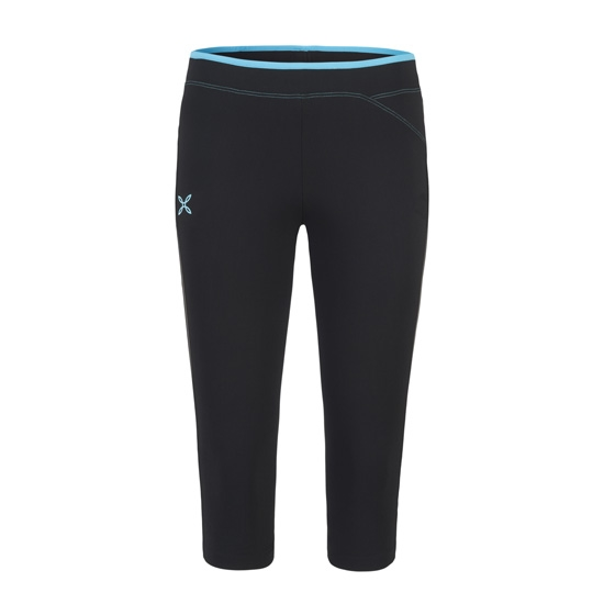 Montura Run Easy 3/4 Pants W - Black/Blue