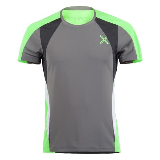 Montura Run Racy T-Shirt - Antracita/Verde/Negro