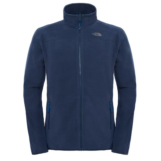 The North Face M 100 Glacier 1/4 Zip - Urban Navy