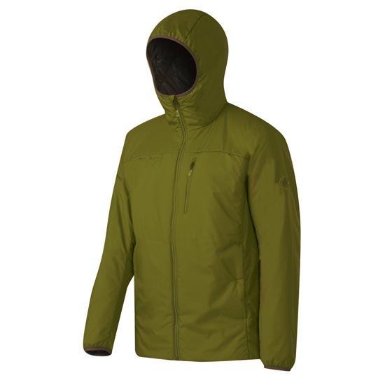 Mammut Runbold Advanced IN Hooded Jacket - Aloe