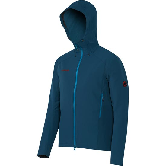 Mammut Base Jump SO Hooded Jacket - Orion