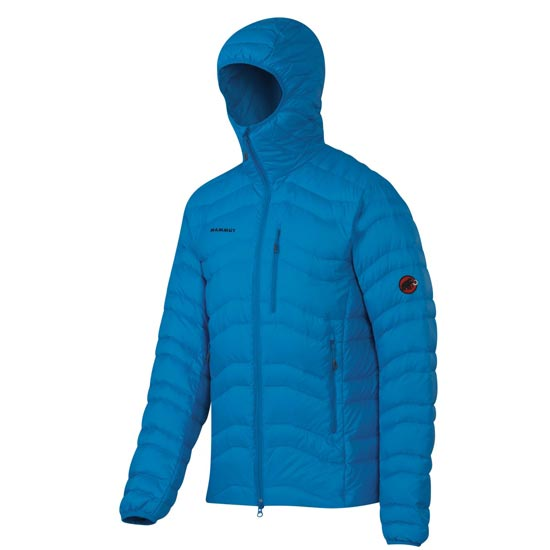 Mammut Broad Peak IN Hooded Jacket - Atlantic