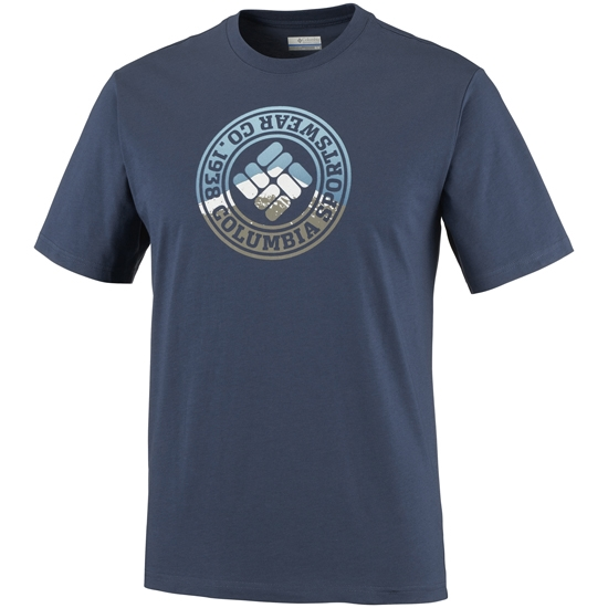 Columbia CSC Tried and True Short Sleeve Tee - Blue