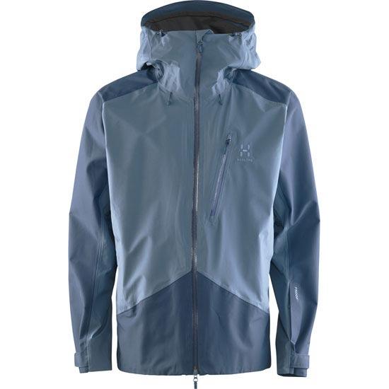 Haglöfs Niva Jacket - Steel Sky/Blue Ink