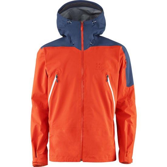 Haglöfs Couloir Jacket - Habanero/Blue Ink