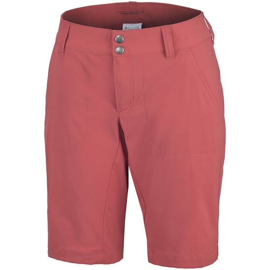 Columbia Saturday Trail Long Short W - Coral