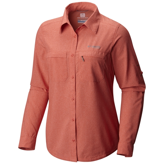 Columbia Irico Long Sleeve Shirt W - Coral Heather