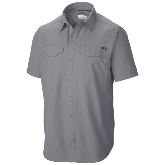 Columbia Silver Ridge Short Sleeve Shirt - Grey