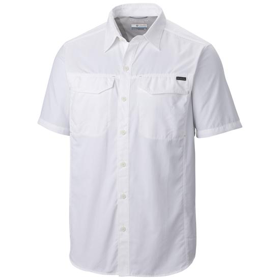 Columbia Silver Ridge Short Sleeve Shirt - White
