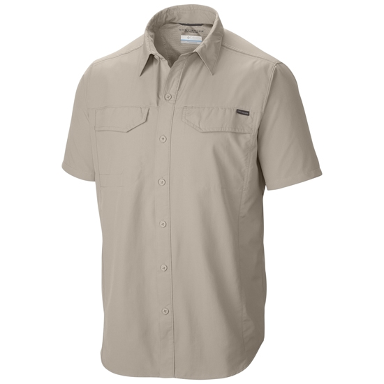 Columbia Silver Ridge Short Sleeve Shirt - Fossil