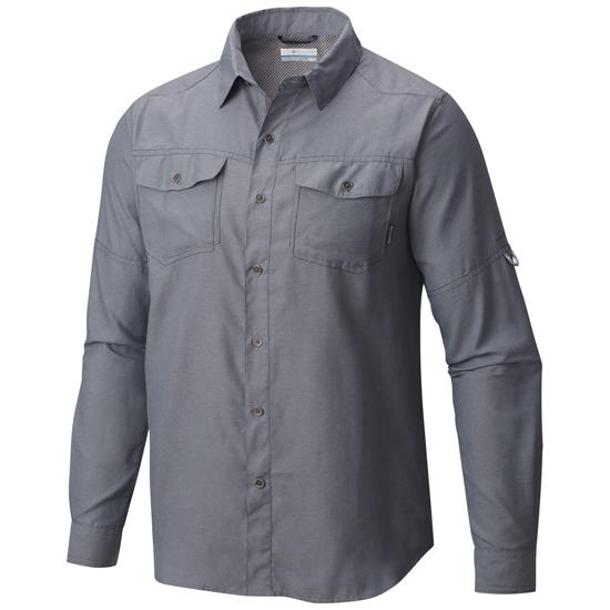 Columbia Pilsner Peak II Long Sleeve Shirt - Grey Ash