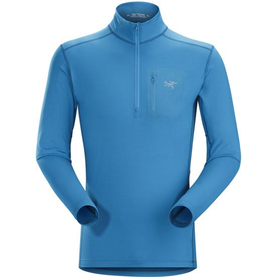Arc'teryx Rho Lt Zip Neck - Macaw