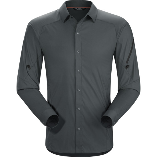 Arc'teryx Elaho LS Shirt - Magnet