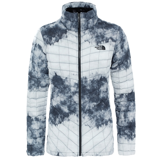 The North Face Thermoball Jacket W - TNF Black Borealis Tonal Print