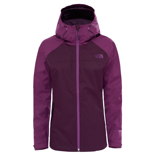 The North Face Sequence Jacket W - BlackBerry Wine/Wood Violet