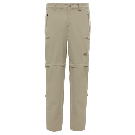 The North Face Exploration Convertible Pant - Dune Beige