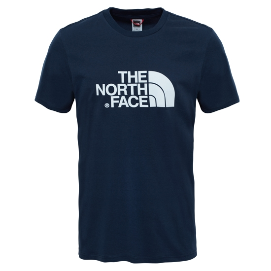 The North Face S/S Easy Tee - Urban Navy/TNF White