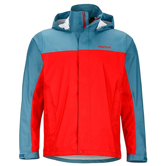 Marmot Precip Jacket - Rocket Red/Moon River