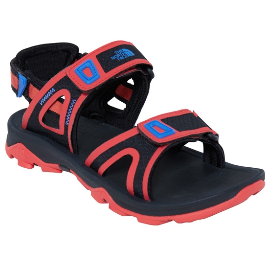 The North Face Hedgehog Sandal II W - TNF Black/Cayenne Red