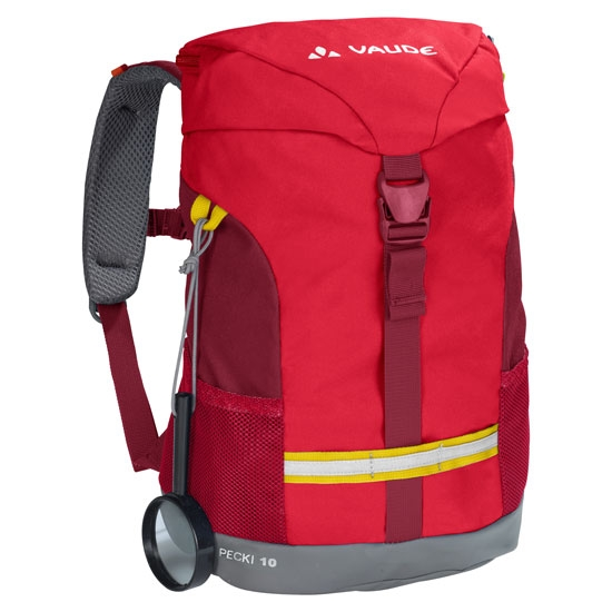 Vaude Pecki 10 Kids - Energetic Red