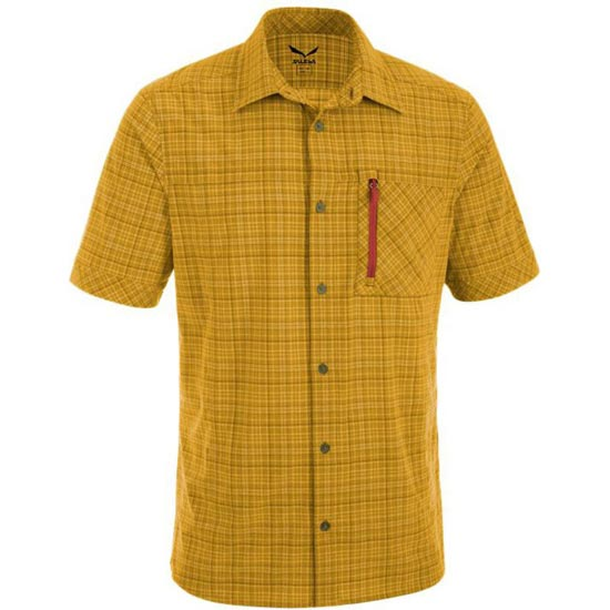 Salewa Isortoq 2.0 Dry M S/S Shirt - Talut Mostaza