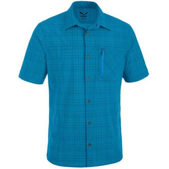 Salewa Isortoq 2.0 Dry M S/S Shirt - Talut Blue