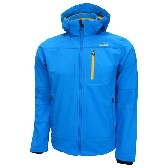 Campagnolo Softshell Zip Hood Jacket - Azul Celeste