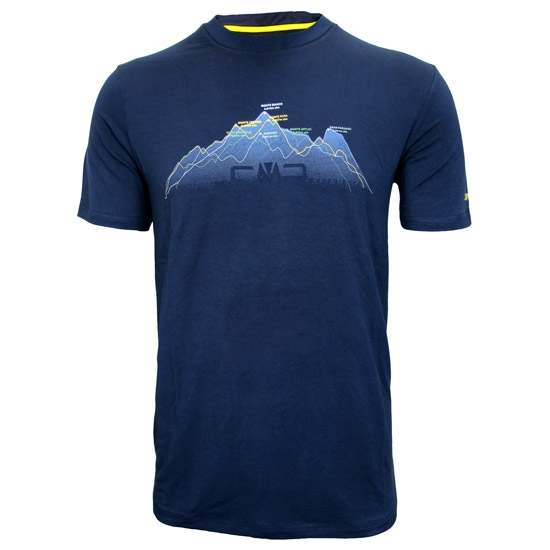 Campagnolo T-Shirt Bamboo - Blue