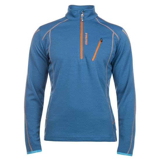 Protest Humany 1/4 Zip Top - Imperial Blue