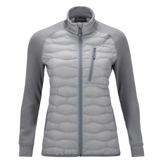 Peak Performance Helium Hybrid Jacket W - Silver
