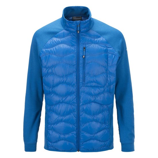 Peak Performance Helium Hybrid Jacket - Hero Blue