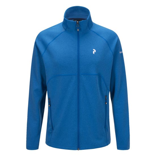 Peak Performance Will Zippped Mid Layer - Hero Blue