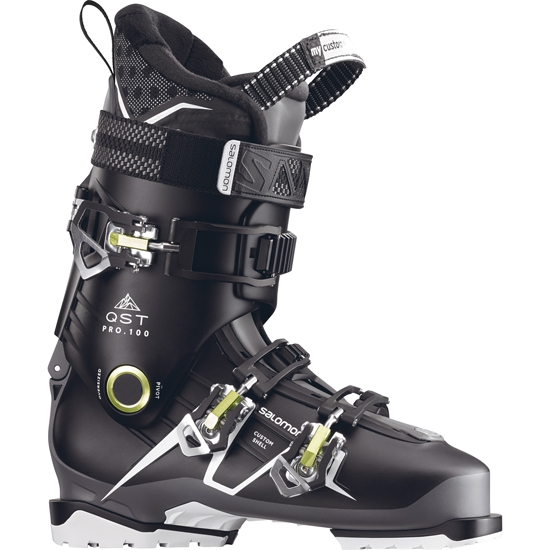 Salomon Quest Pro 100 Thermoformable - Black/Anthracita/Acid