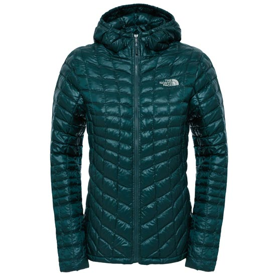 The North Face Thermoball Hoodie W - Darkest Spruce