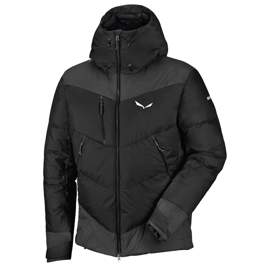 "Salewa Ortles ""Heavy"" PTX/Down Jacket - Black Out"