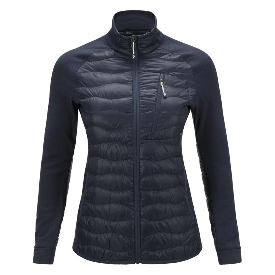 Peak Performance Helium Hybrid Jacket W - Blue Shadow