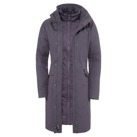 The North Face Suzanne Triclimate Jacket W - Rabbit Grey