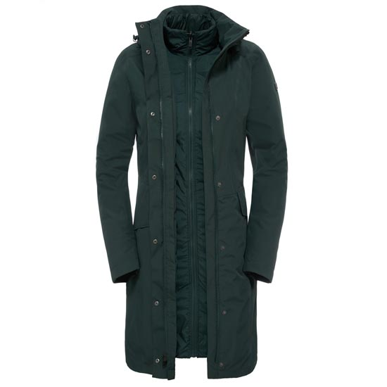 The North Face Suzanne Triclimate Jacket W - Darkest  Spruce