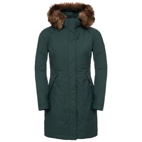 The North Face Arctic Parka W - Darkest Spruce