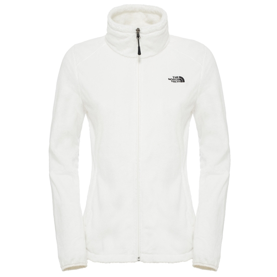 The North Face Osito 2 Jacket W - TNF White/TNF Black