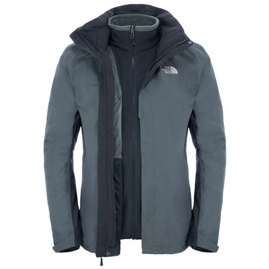 The North Face Evolution II Triclimate Jacket - Fusebox Grey/Asphalt Grey