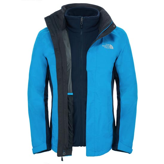The North Face Evolution II Triclimate Jacket - Blue Aster/Urban Navy