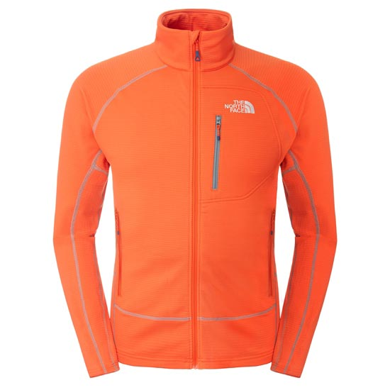 The North Face Storm Shadow Jacket - Acrylic Orange