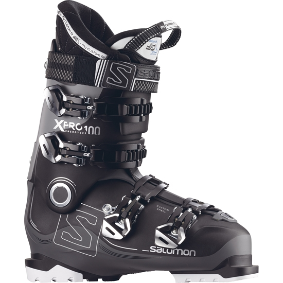 Salomon X Pro 100 Thermoformable - Black/Anthracite/Grey