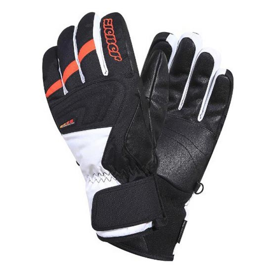 Ziener Gerwin AS PB - Black/Fire Orange