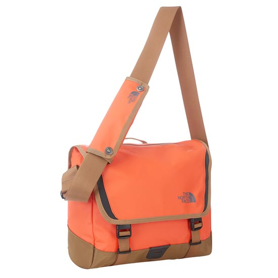 The North Face BC Messenger-S - Acrylic Orange/Utility Brown