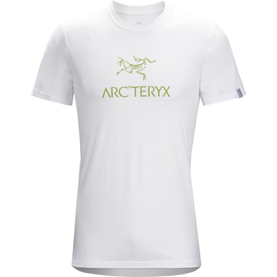 Arc'teryx Arc'word SS T-Shirt - White/Bamboo